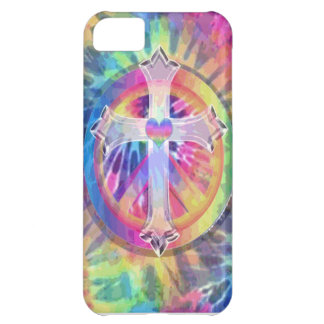 Tye Dye Cross Case For iPhone 5C