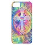 Tye Dye Cross Case For iPhone 5C
