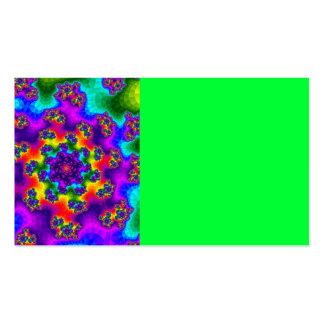 Tye-Dye Floral Sprinkles Business Card