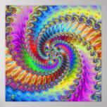 Tye Dye Lischous. Print