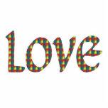 Tye-Dye Love Photo Sculptures