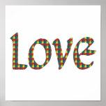 Tye-Dye Love Print