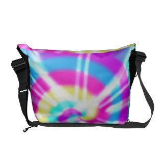 Tye Dye Pattern Messenger Bags