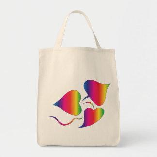 Tye-Dye Plant Tote Bags
