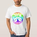 Tye-Dye Retro Peace T-shirts