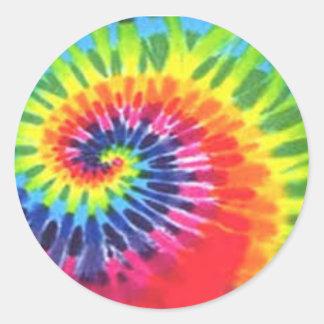 Tye Dye sticker!!! Classic Round Sticker