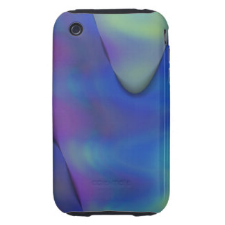 tye Dyed Waves abstract case for iphone3 iPhone 3 Tough Covers