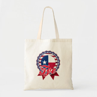 Tye, TX Canvas Bag