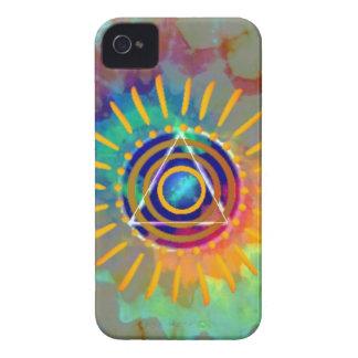 Tyedye espiritual Case-Mate iPhone 4 protector