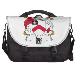 Tyes Family Crest Laptop Bags