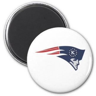 Tyfa Killeen Patriots Youth Football, Cheer & 2 Inch Round Magnet