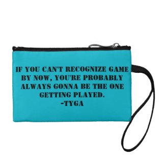 Tyga quote bagette change purse