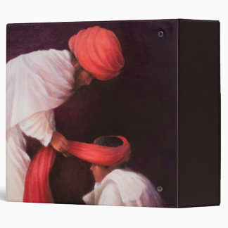 Tying a Turban 2010 3 Ring Binder