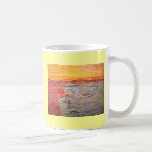 tying one on coffee mug