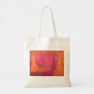 Tying Saris Tote Bag