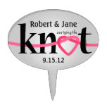Tying The Knot Cake Topper