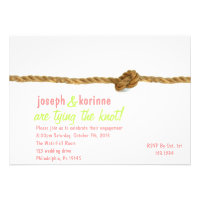 Tying the Knot Engagement Party Invitation (<em>$1.90</em>)