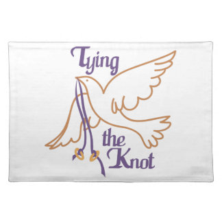 Tying the Knot Cloth Place Mat