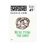 Tying the Knot Postage