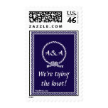 Tying the Knot Postage Stamp