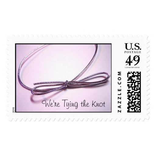Tying the Knot Postage Stamps
