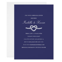 Tying The Knot | Rehearsal Dinner Invitation