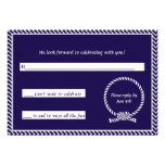 Tying the Knot Response Card