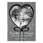 Tying the Knot Save the Date Personalized Announcement