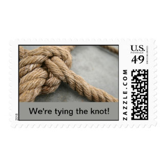 tying the knot stamps