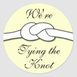 Tying the Knot Sticker