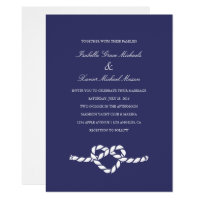 Tying The Knot | Wedding Invitation