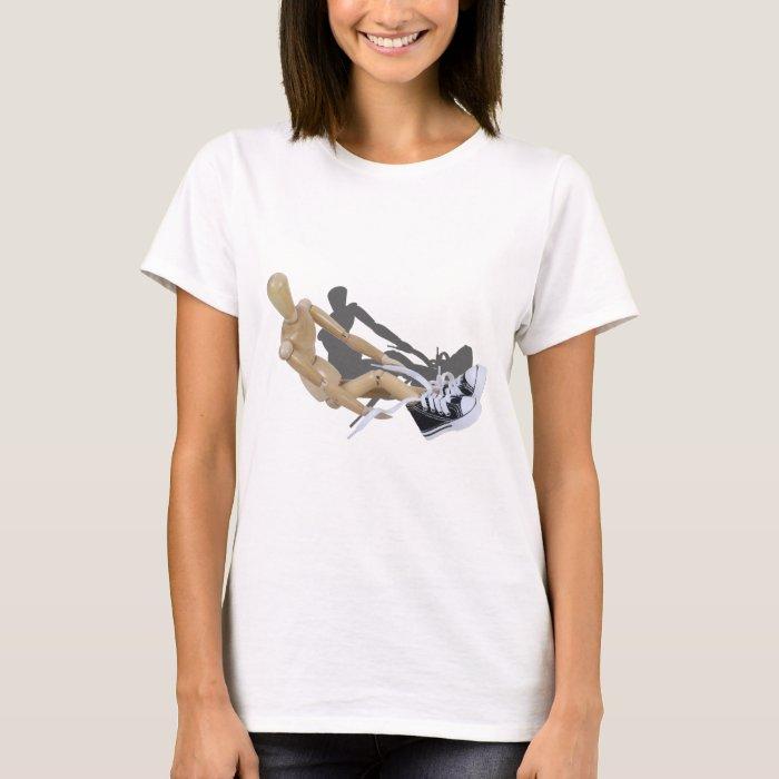 TyingTennisShoes032112.png T-Shirt