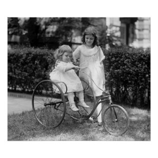 Tyke en Trike, los años 20 Posters