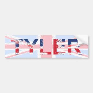 Tyler Etiqueta De Parachoque