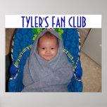 TYLER FAN CLUB POSTERS