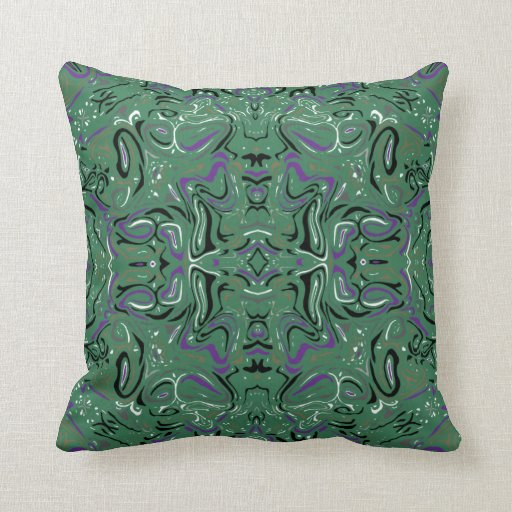 Tyler Forest Modern Pattern Pillow in 2 Sizes