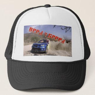 Tyler race car driver trucker hat