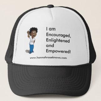 tyler sep, I am Encouraged, Enlightened and Emp... Trucker Hat