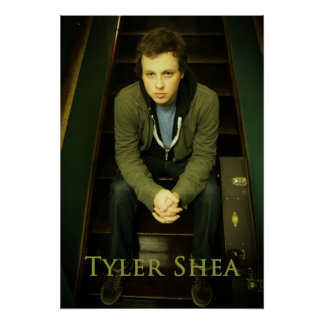 Tyler Shea Poster (stairs)