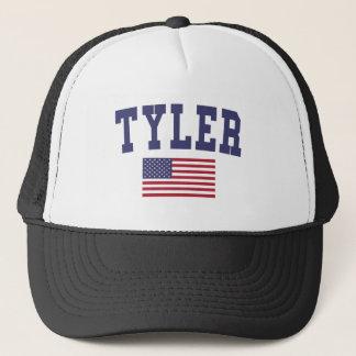 Tyler US Flag Trucker Hat