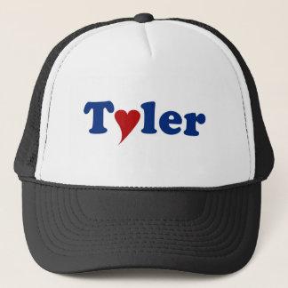 Tyler with Heart Trucker Hat