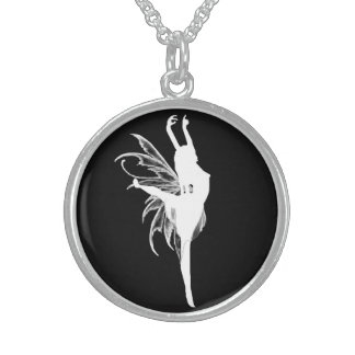 Tylwyth Teg Amulet Sterling Silver Necklace