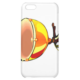 Tympani with hand tuners graphic image iPhone 5C case