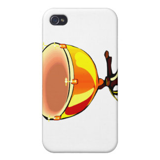 Tympani with hand tuners graphic image cover for iPhone 4