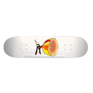 Tympani with hand tuners graphic image skateboard