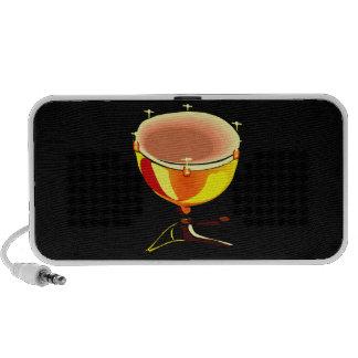 Tympani with hand tuners graphic image mini speaker