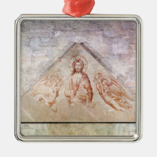 Tympanum depicting Christ the Redemptor Metal Ornament
