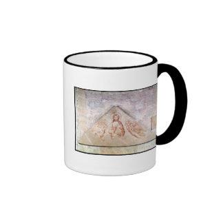 Tympanum depicting Christ the Redemptor Ringer Mug