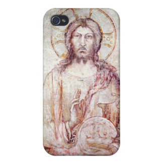 Tympanum depicting the Saviour Blessing, 1341 Cover For iPhone 4