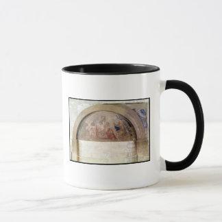 Tympanum depicting the Virgin of Humility Mug